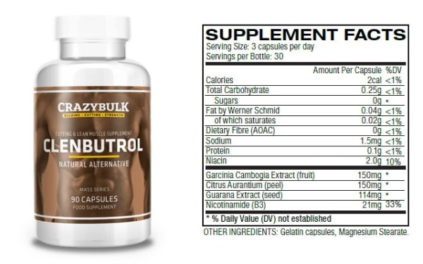 Comparatif Clenbutrol Clenbuterol